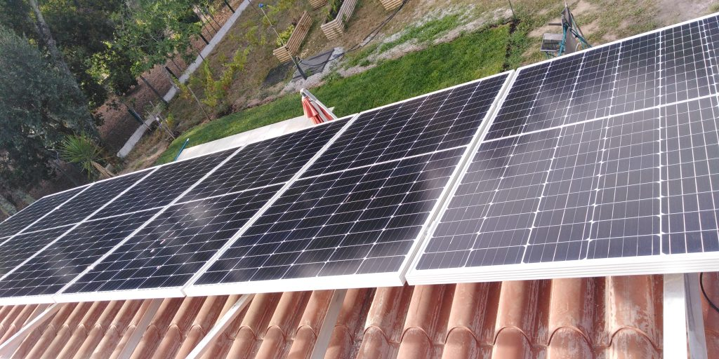 Energia Solar Solutions installation in Carregal do Sal