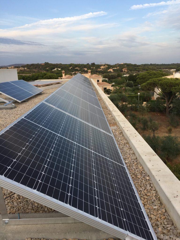 Energia Solar Solutions _Quarrteira installation