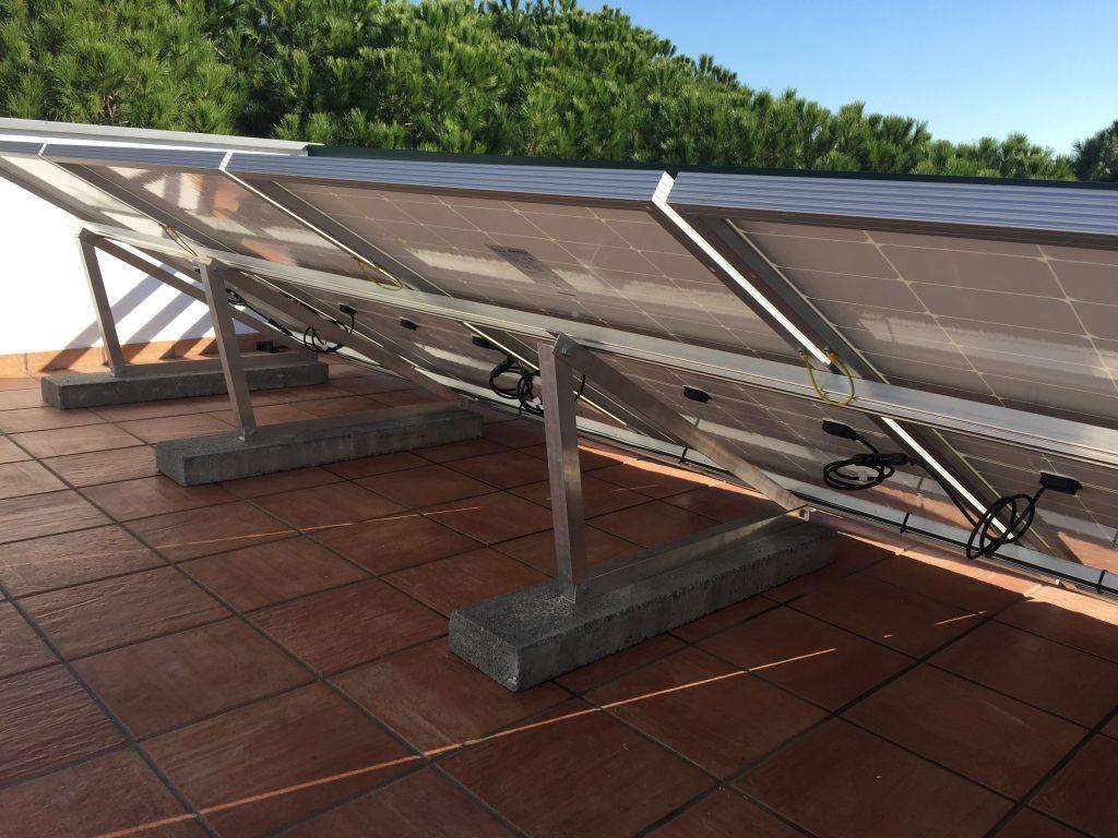Castro Marim Praia Verde installation 3.8 kW with a sunny trippier 4.0