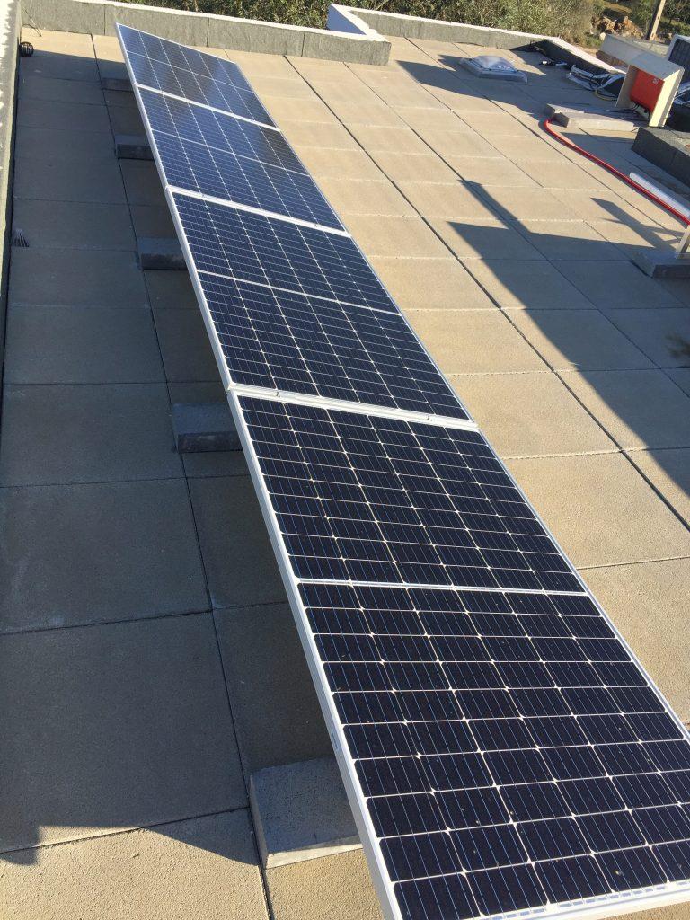 Peral Energia Solar Solutions installation