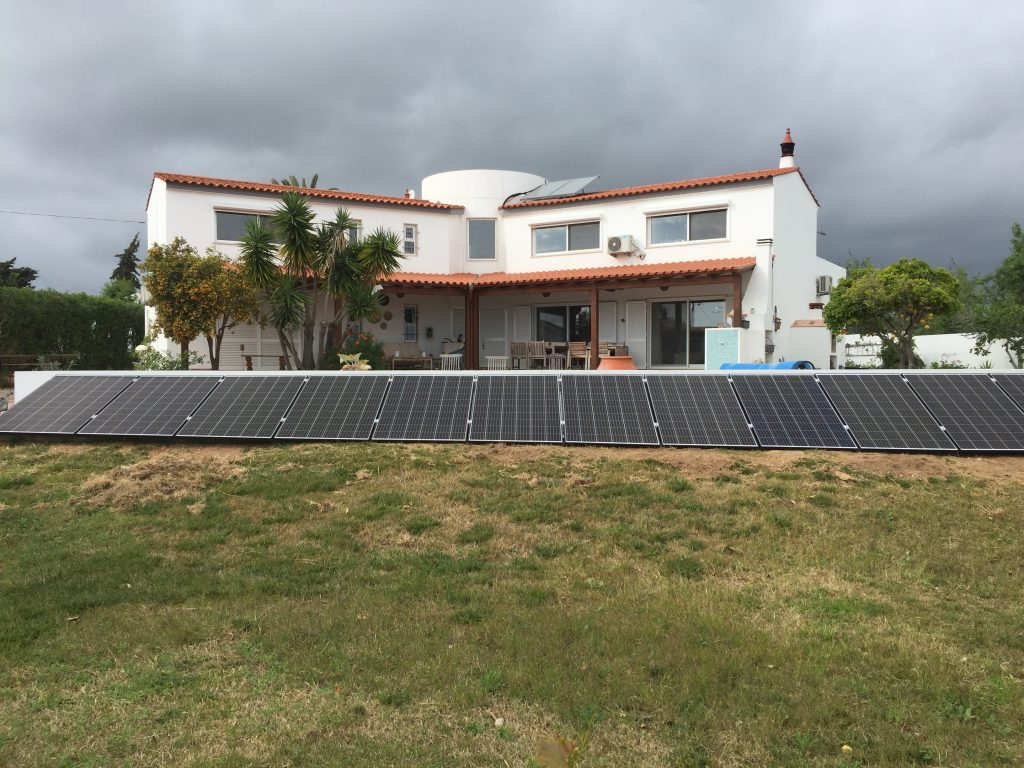 Energia Solar Solutions 4 kWp installation