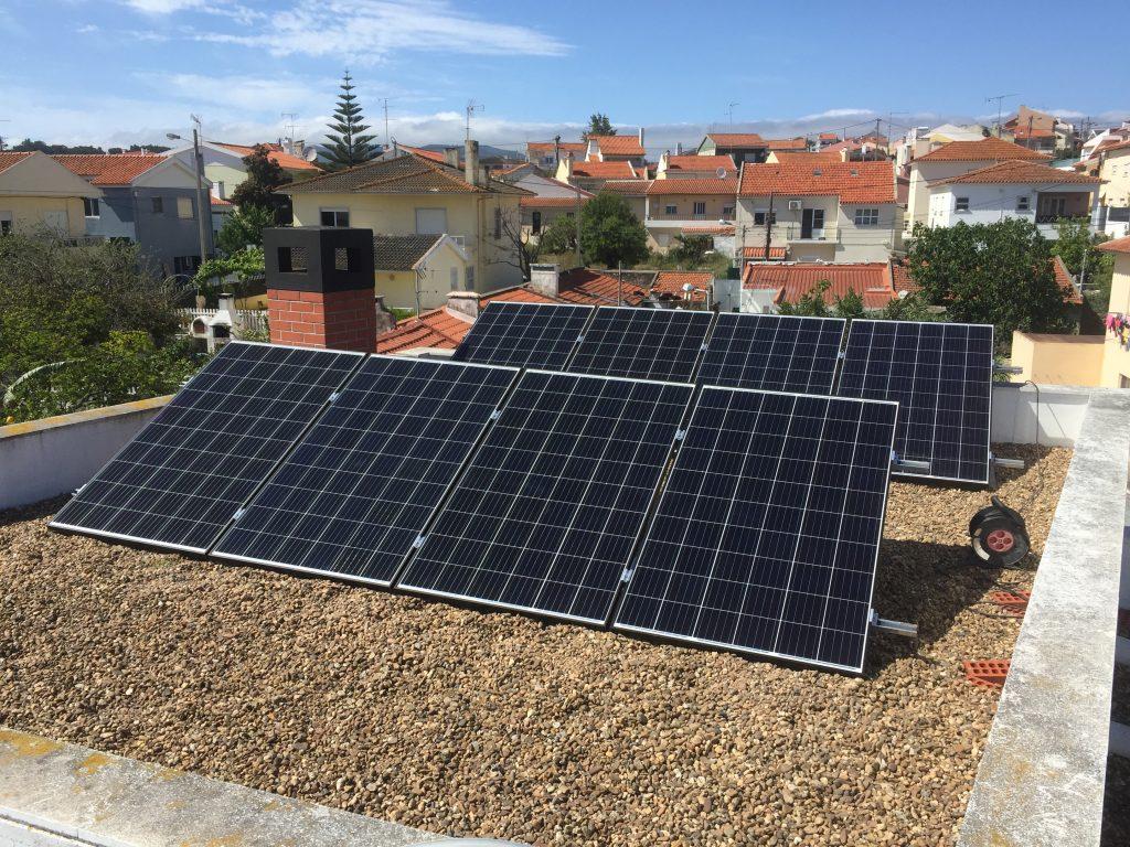 Energia Solar Solutions Alcabideche installation