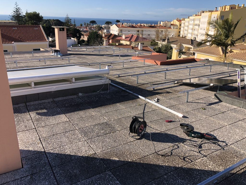 Roof mounting system special developed by Energia Solar Solutions
