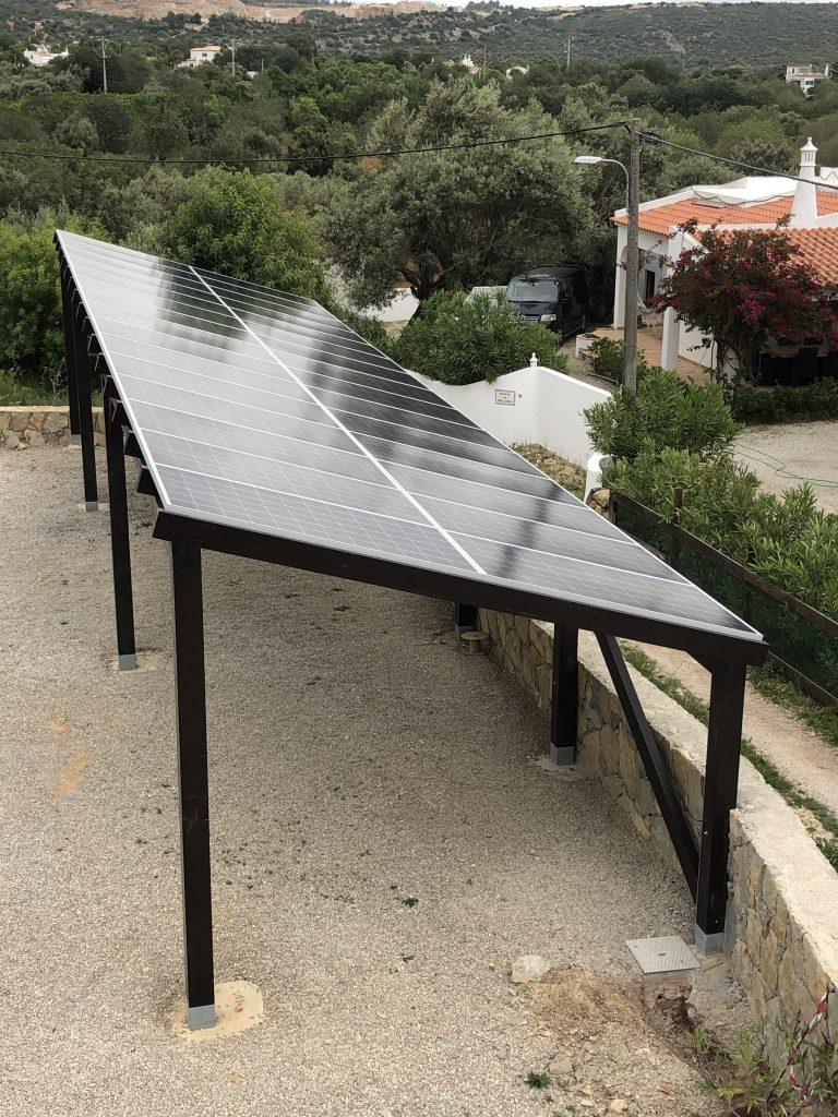 Energy Solar Car port